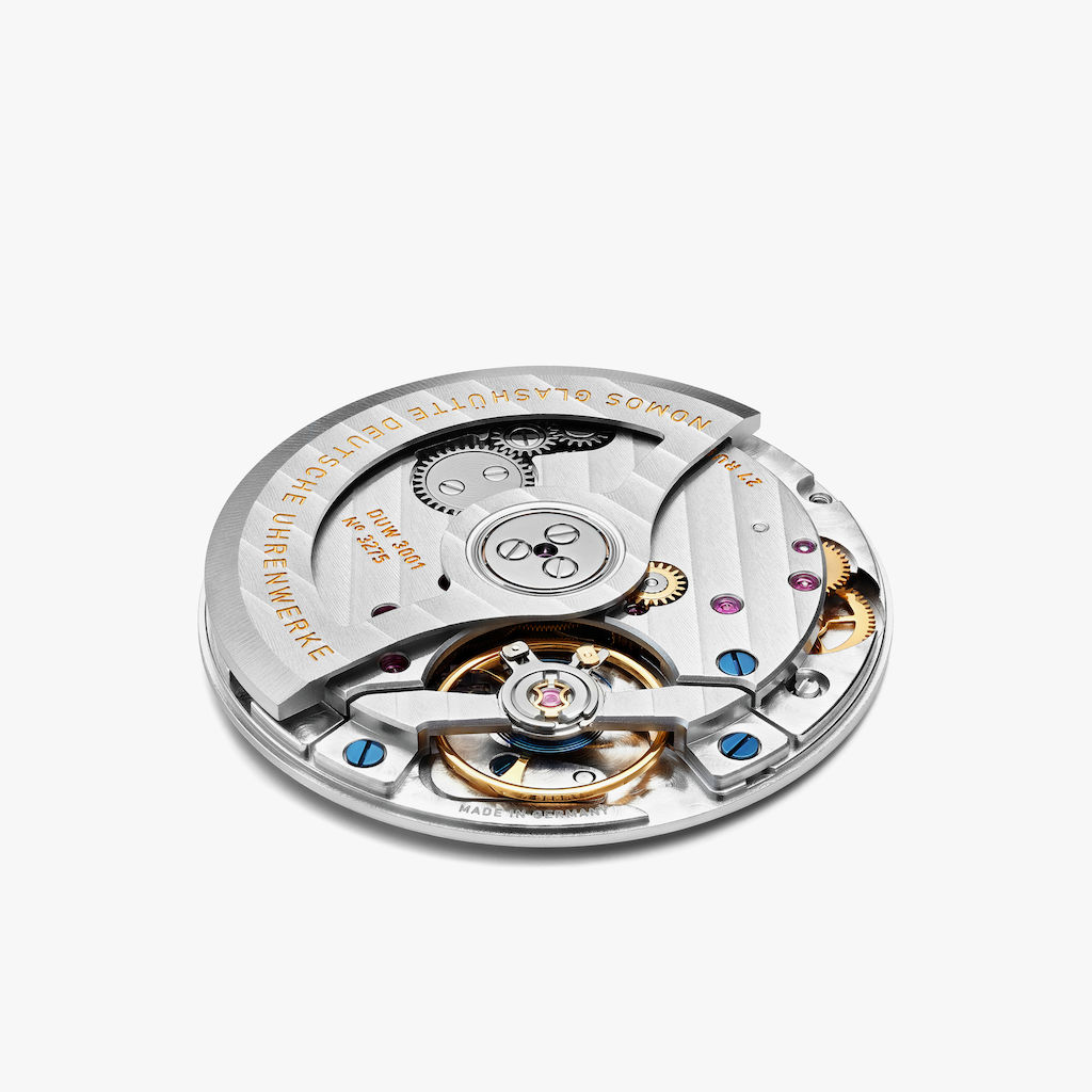 in-house built NOMOS neomatik caliber with automatic winding